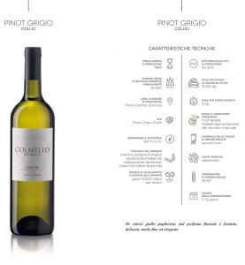 Collio Pinot Grigio DOC 2015 Colmello di Grotta