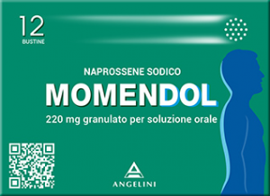 MOMENDOL GRANULATO 220 MG NAPROSSENE 12 BUSTINE