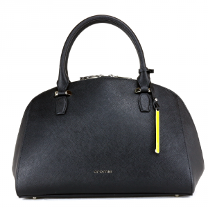 Hand and shoulder bag Cromia PERLA 1403377 NERO