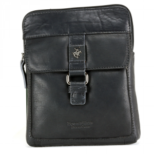 Sac à bandoulière Beverly Hills Polo Club BERLINO BH-1120 NERO