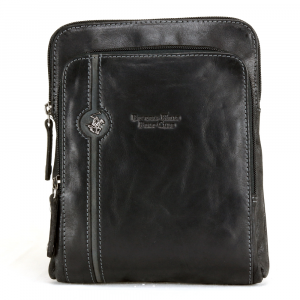 Shoulder bag Beverly Hills Polo Club EXPLORE BH-380 NERO