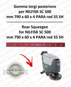 SC 500 GOMMA TERGI posteriore per lavapavimenti NILFISK