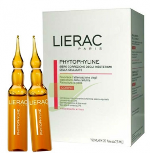 LIERAC PHYTOPHYLINE TRATTAMENTO ANTICELLULITE 20 FIALE 7,5 ML