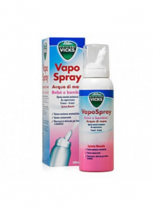 VICKS VAPO SPRAY NASALE ACQUA DI MARE BEBÈ E BAMBINI 100 ML