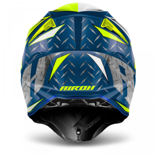 CASCO MOTO CROSS AIROH TWIST 2018 IRON BLUE GLOSS TWIR18