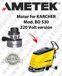 BD 530 MOTORE AMETEK di aspirazione per lavapavimenti KARCHER 220 volt version