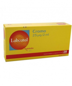 LABCATAL OLIGOSOL OLIGOELEMENTI CROMO 28 FIALE DA 2 ML