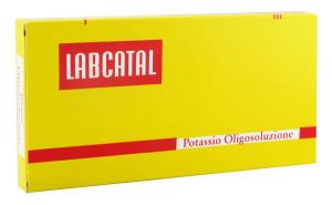 LABCATAL OLIGOSOL OLIGOELEMENTI POTASSIO 14 FIALE DA 2 ML