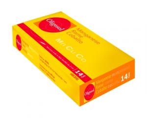 LABCATAL OLIGOSOL OLIGOELEMENTI MANGANESE/RAME/COBALTO 14 FIALE 2 ML
