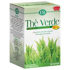 ESI THE VERDE CONCENTRATO 60 CAPSULE 500 MG DRENANTE DIMAGRANTE