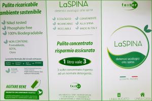 Detergente Iperconcentrato per Capi Scuri 1 lt LaSpina Nero