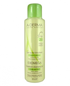 ADERMA EXOMEGA GEL DETERGENTE 2in1 CORPO E CAPELLI 500ML