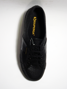 Sneaker pitonata coffee o black Superga