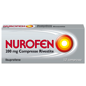 NUROFEN COMPRESSE RIVESTITE A BASE DI IBUPROFENE 200MG
