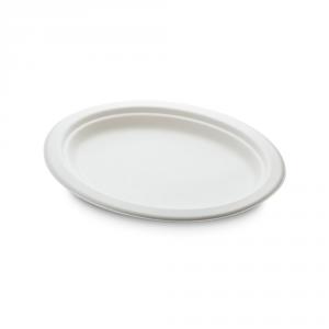 Piatti ovali cellulosa bio medio 26x20cm