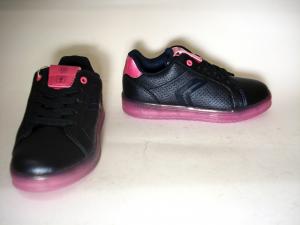 Sneaker navy/fuxia o dark silver/prune Geox
