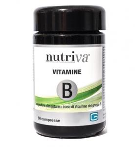 NUTRIVA VITAMINE B 50 COMPRESSE