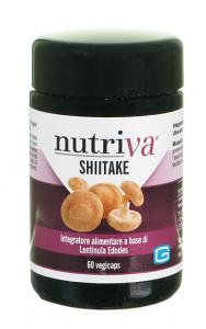 NUTRIVA SHIITAKE - BIO 60 CAPSULE