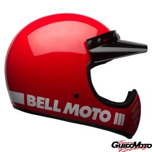 Casco cross BELL MOTO-3 Classic rosso Tg. M