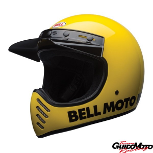 Casco cross BELL MOTO-3 Classic giallo Tg. XL