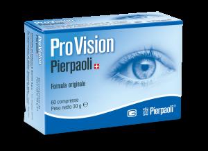PROVISION PIERPAOLI INTEGRATORE VISTA 60 COMPRESSE