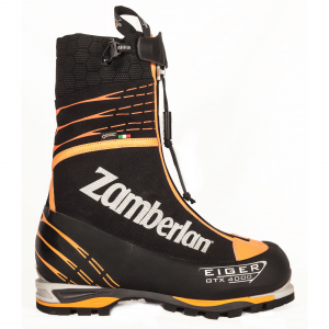 4000 EIGER EVO GTX RR    -   Men's Mountaineering  Boots   -   Black/Orange
