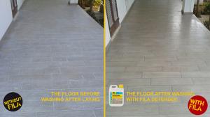 Detergente Disincrostante Acido 1lt Deterdek FILA