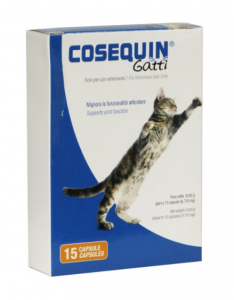 COSEQUIN GATTI MANGIME COMPLEMENTARE 15 CAPSULE