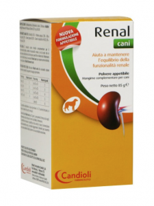 RENAL CANI POLVERE MANGIME COMPLEMENTARE PER CANI 85 G