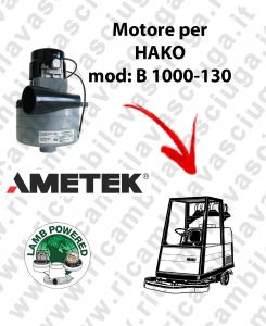 B 1000-130 MOTORE LAMB AMETEK di aspirazione per lavapavimenti HAKO