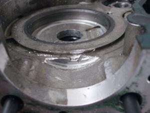 carter motore dx (segnato come da foto)lml px 150 4t del  2010