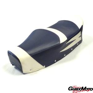 Sella touring Lambretta LI3 LIS SX DL GP, colore blu/bianco 278VLA062BL