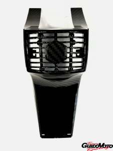 Calandra mascherina copri sterzo Vespa PX PE carbon Look
