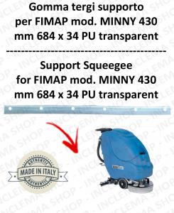 MINNY 430 GOMMA TERGIPAVIMENTO supporto per FIMAP