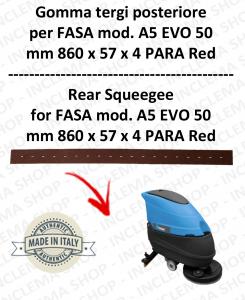 A5 EVO 50 GOMMA TERGI lavapavimenti posteriore per FASA