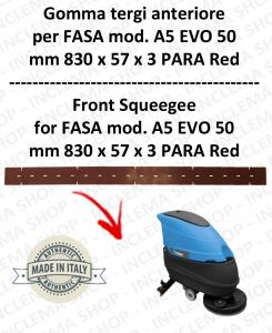 A5 EVO 50 GOMMA TERGI lavapavimenti anteriore per FASA