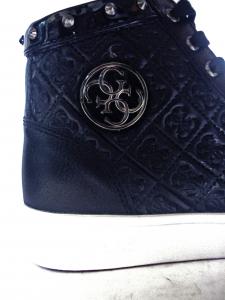 Sneaker logo impresso zeppa Guess