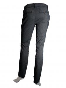 Pantalone tasca francese grigio Nero Giardini