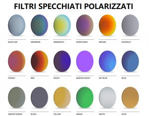 McYou Mod Mirit + filtro sole specchiato polarizzato