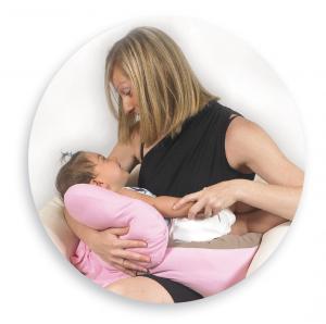 Cuscino gravidanza e allattamento multiuso Polly  Fantasia orsetto azzurro related image