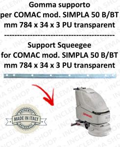 Gomma tergi supporto per lavapavimenti COMAC SIMPLA 50 B/BT till s/n 111011125