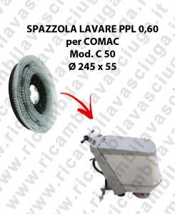 SPAZZOLA LAVARE  per lavapavimenti COMAC modello C 50 ø 245 x 55 PPL 0,60