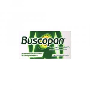 BUSCOPAN 30 COMPRESSE - MANIFESTAZIONI SPASTICO-DOLOROSE GASTROENTERICHE