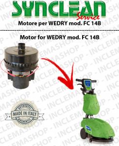 FC 14B Motore aspirazione SYN per lavapavimenti WEDRY
