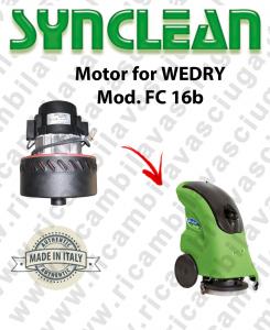 FC 16b Motore aspirazione SYN per lavapavimenti WEDRY