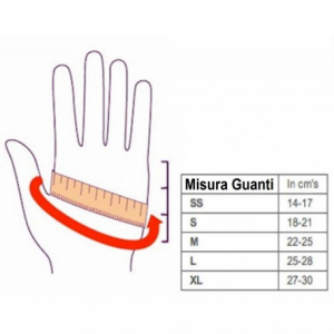 GUANTO FIT 39 - nero