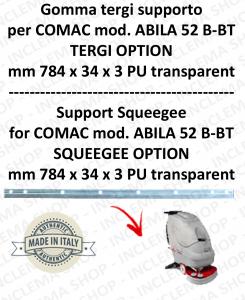 Gomma tergi supporto per lavapavimenti COMAC ABILA 52 B-BT tergi option till s/n 111011125