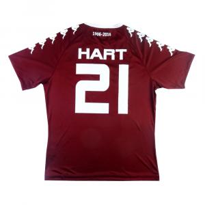 2016-17 Torino Maglia Home #21 Hart XL 110 Anni (Top)