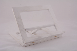Leggio da tavolo in legno cm 25x20