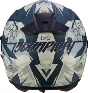 CASCO MOTO INTEGRALE SCORPION EXO-510 AIR CIPHER MATT GREEN